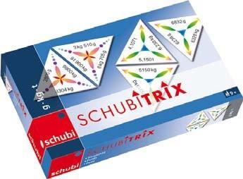 Schubitrix Hmotnost