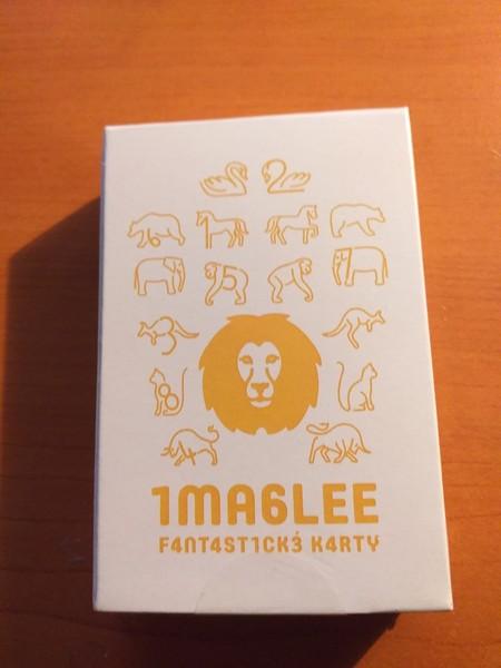 Imaglee Fantastické karty - nový žlutý lev