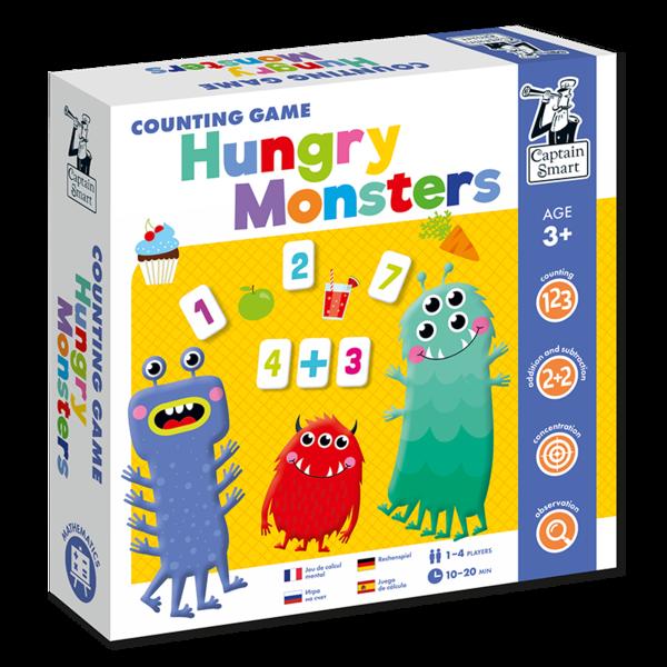 Hladové příšerky - počítání do 10