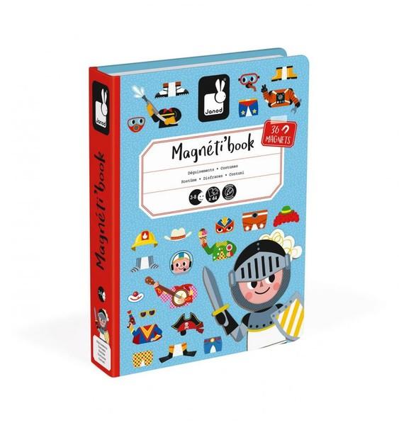 Janod Magnetická kniha Oblékání - chlapci