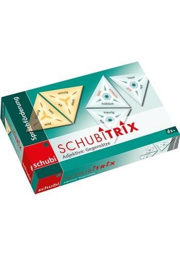 Schubitrix Němčina - Přídavná jména, protiklady (Adjektive, Gegensätze)