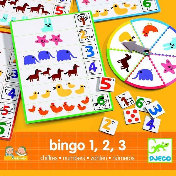Djeco Číselné bingo