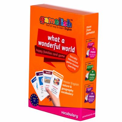 Gamelish What a wonderful world