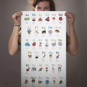 Poketo ABC plakát