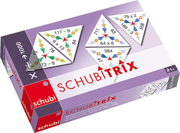 Schubitrix Násobení a dělení do 1000