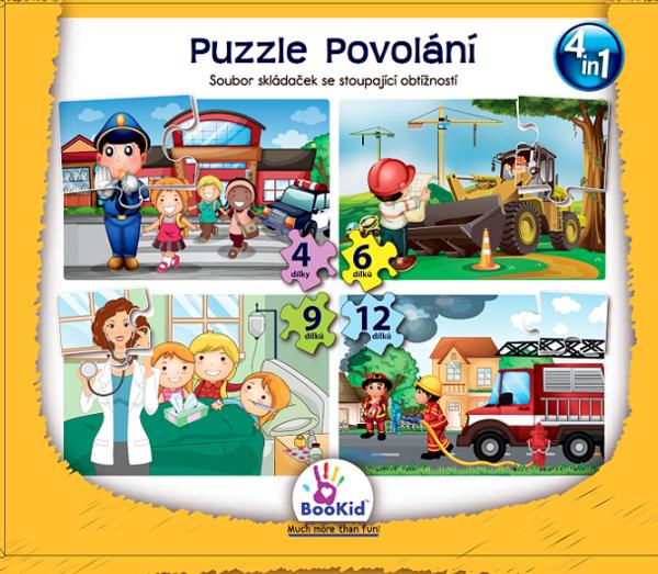 Bookid Toys Puzzle Povolání