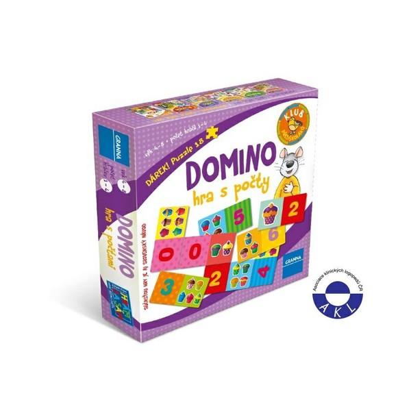 GRANNA Domino - hra s počítáním