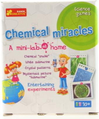 Lamps Domácí minilaboratoř - Chemické zázraky