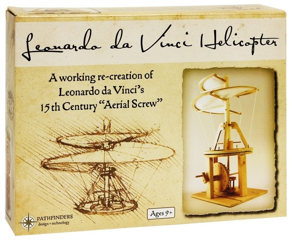 Leonardo da Vinci Helikoptéra