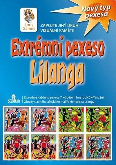 Extrémní pexeso Lilanga