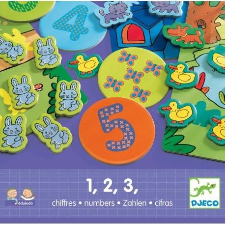 Djeco Zábavná hra s čísly