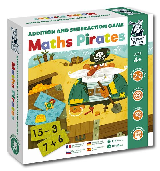 Piráti - matematická hra