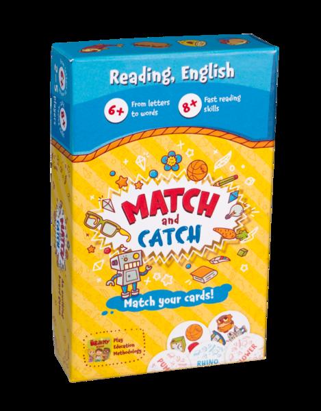The Brainy Band Match and Catch - čtení v angličtině