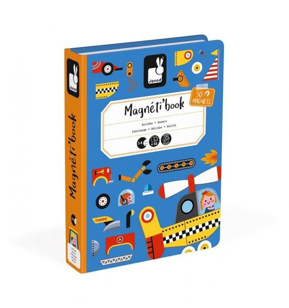 Janod Magnetická kniha Dopravní prostředky