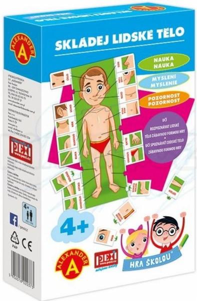 ALEXANDER Hra školou Skládej lidské tělo