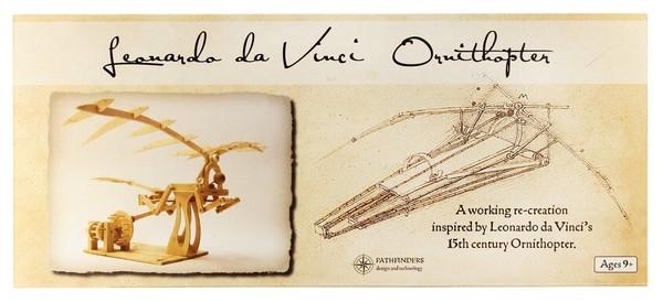 Leonardo da Vinci Ornitoptéra