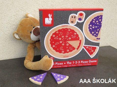 Janod Pizza 1-2-3