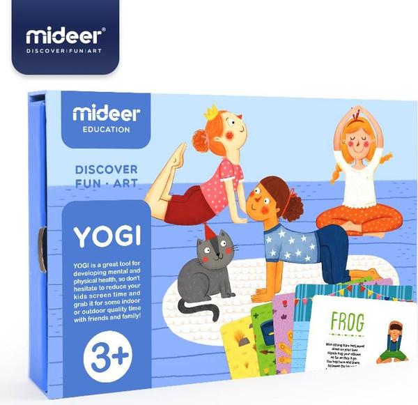 MiDeer Jógové karty Yogi