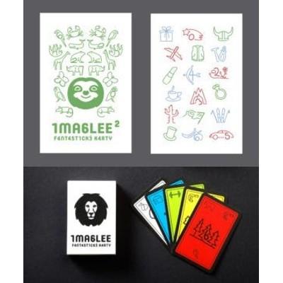 Imaglee Fantastické karty sada 3 (zelená a bílá krabička)