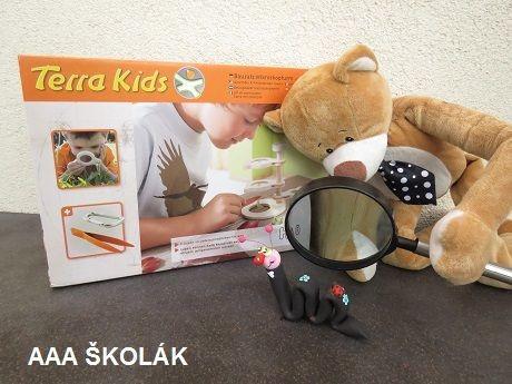HABA Terra Kids Stavebnice Mikroskopická věžička