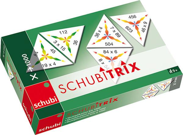 Schubitrix Násobení do 1000