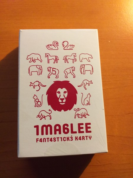 Imaglee Fantastické karty - nový červený lev