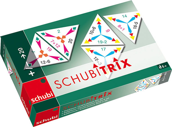 Schubitrix Sčítání a odčítání do 20