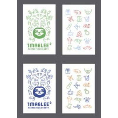 Imaglee Fantastické karty sada 2 (zelená a modrá krabička)