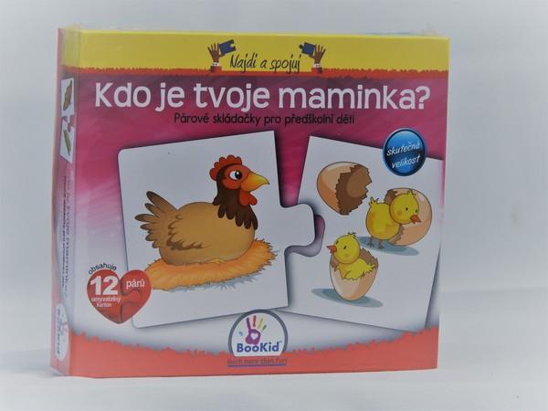 Bookid Toys Kdo je tvoje maminka?