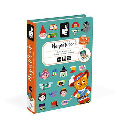 Janod Magnetická kniha Pohádky