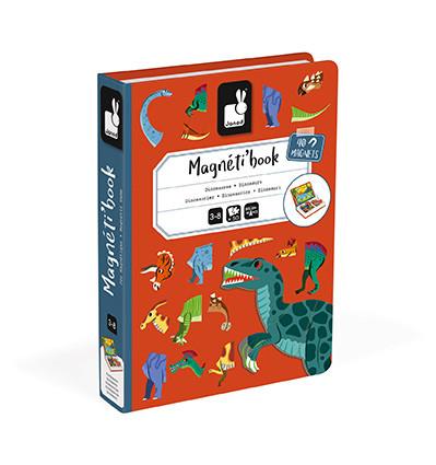Janod Magnetická kniha Dinosauři