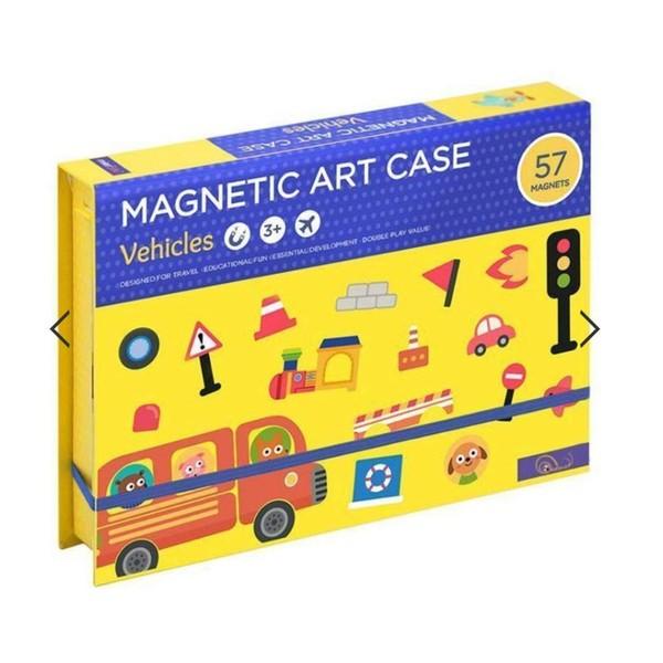 Kreativní magnetická sada - Auta