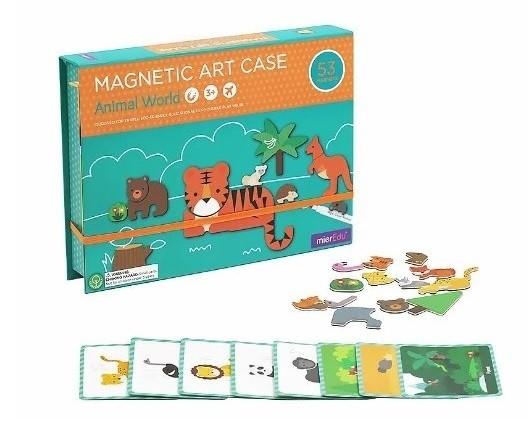 Kreativní magnetická sada - Zvířata