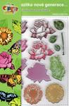 Creatoys Gelová razítka - květy