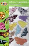 Creatoys Gelová razítka - motýli
